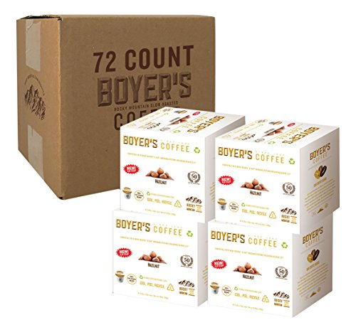 Hazelnut Flavored Coffee, K-cup compatible, 72ct