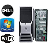 Dell Precision T5400 Workstation -INTEL QUAD Core 2 X 2.33Ghz Processors - 16GB of DDR3 Memory - 2TB Hard Drive with 3 Year Warranty - Microsoft Windows 7 Pro 64-Bit - DVD/RW - Refurbished