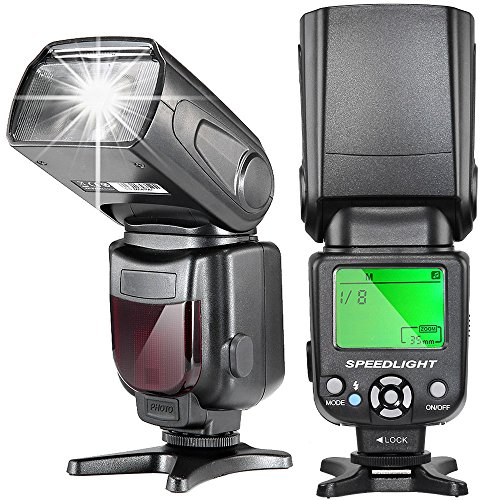 TR-950 Flash Speedlite for Canon Nikon Panasonic Olympus Pentax Fijifilm DSLR Mirrorless Cameras and Sony Camera with Mi Hot Shoe Like a9 a7 a7II a7III a7RII a7SII a6000 a6300 a6500 RX10IV