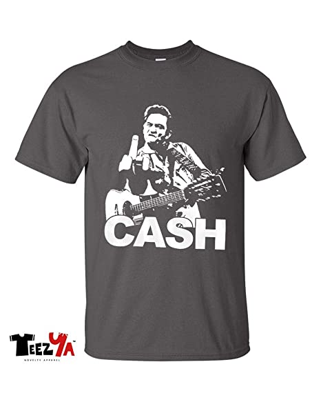 4260bceb522c8 Image Unavailable. Image not available for. Color  Johnny Cash T-Shirt Man  in Black ...