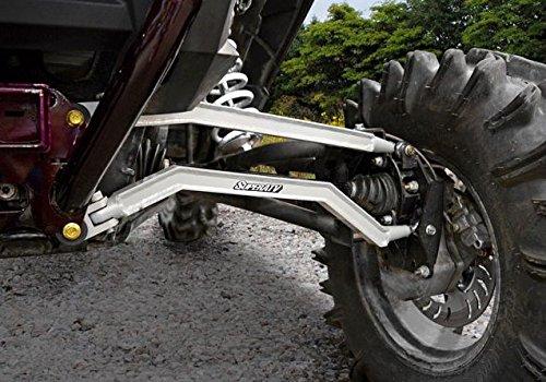 Super ATV Voodoo Blue High Clearance Boxed Rear Radius Rods Polaris RZR 1000