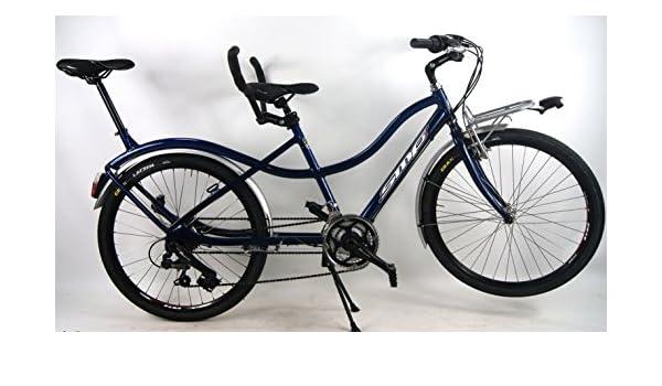 Bicicleta Tandem Compact SMP con cambio SHIMANO 21 V – Tandem Bike ...