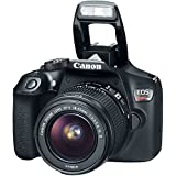 Canon EOS Rebel T6 DSLR Camera with EF-S 18-55mm f/3.5-5.6 IS II Lens, EF 75-300mm f/4-5.6 III Lens, Bundle