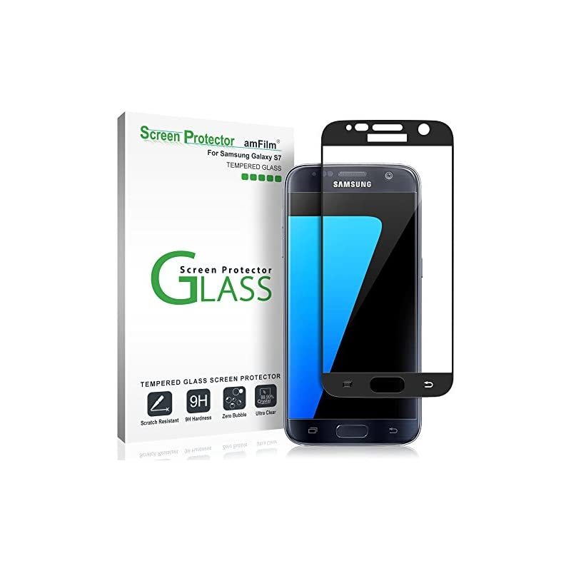 Galaxy S7 Screen Protector Glass (3D Cur