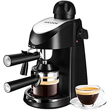 Amazon Mr Coffee 4 Cup Steam Espresso System with Milk Frother
