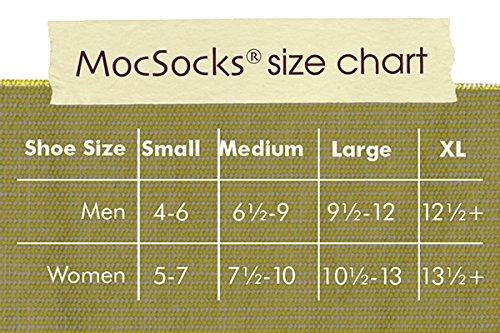 MocSocks Double Socks Red Red Slipper XL Bottom Skid Non Janska HqxwF5BdHg
