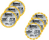Dewalt 5-3/8-Inch Saw Blade Combo Pack with (3) 30 Tooth and (3) 16 Tooth Saw Blades
