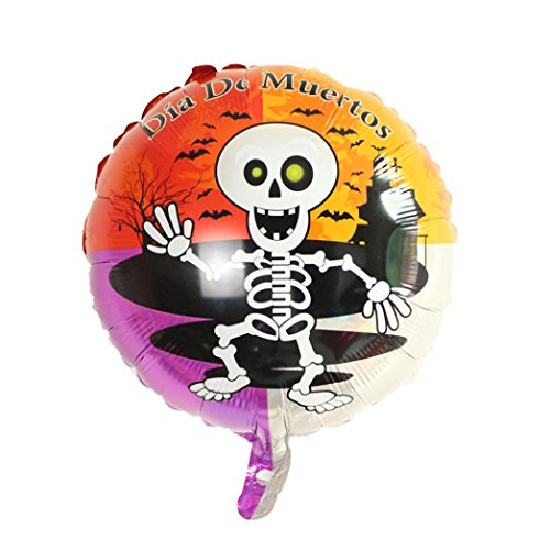 10 Piece Happy Halloween Party Balloons,SMYTShop Household Children Kids Pumpkin Balloon Ghost Decor Terror Fun 17.7