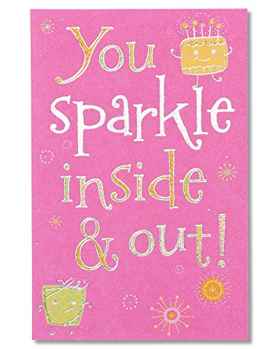 American Greetings Sparkle Birthday Card with Foil