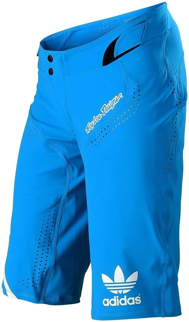 Troy Lee Designs Ultra LTD Adidas チーム メンズ オフロード BMXサイクリングショーツ 32 ブルー B07HC78D6B