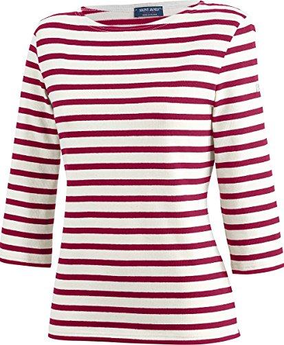 Saint James Huitriere III - Streifenshirt - Bretagne-Shirts Ecru/Persan