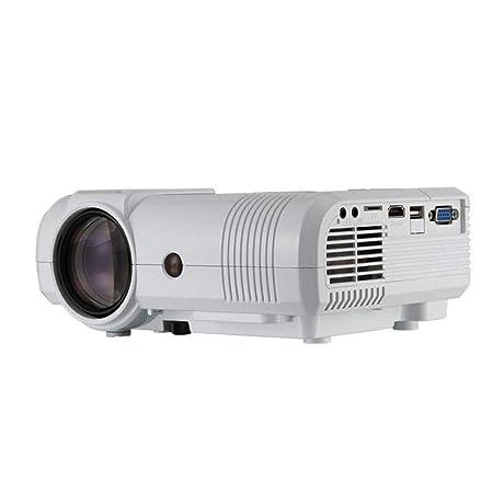 HRFHLHY Proyector de Oficina, Mini Mini proyector pequeño Cine ...