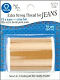 COATS & CLARK Extra Strong Thread For Jeans, 70-Yard, Golden