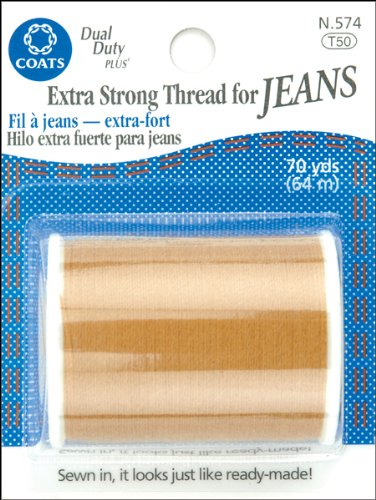 COATS & CLARK Extra Strong Thread For Jeans