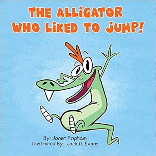 The Alligator Who Liked To Jump - Popular Autism Related Book