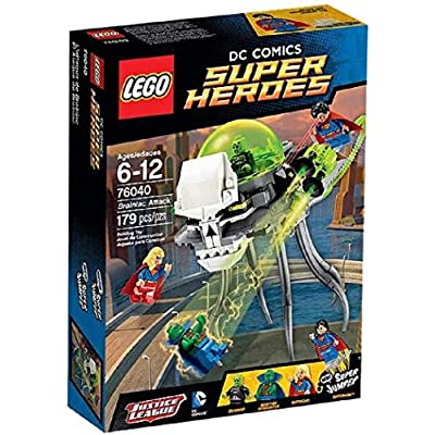LEGO Brainiac Attack (76040): Toys & Games