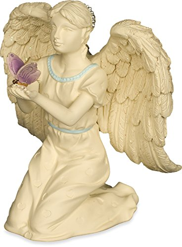 AngelStar Platinum Series 4-1 4-Inch Angel Figurine, Butterfly Dreams