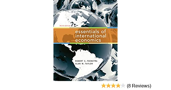 Amazon com: Essentials of International Economics, Third