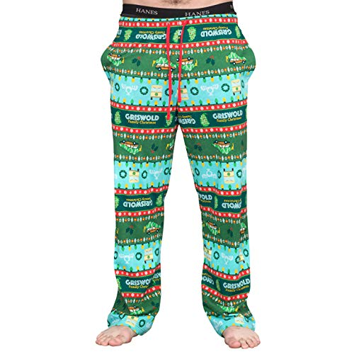 National Lampoon's Griswold Family Christmas Vacation Fair isle Lounge Pants (Adult X-Large)