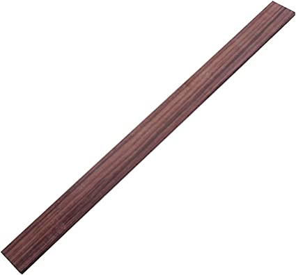 Alnicov Fretboard With 21 Frets Maple Fingerboard For Three String Cigar Box Guitar Replacement