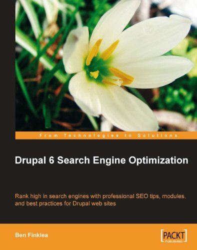 Book cover from Drupal 6 Search Engine Optimization by Ben Finklea