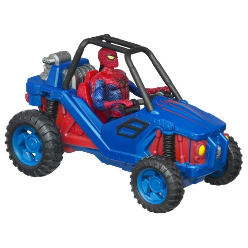 The Amazing Spider-Man Zoom N Go Turbo Cruiser Vehicle Amazing Spider Man Action Vehicle