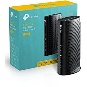 TP-Link TC-7620 DOCSIS 3.0 (16x4) Cable Modem. Max Download Speeds Up to 680Mbps. Certified for Comcast XFINITY, Spectrum, Cox, and more. Separate Router is Needed for Wi-Fi