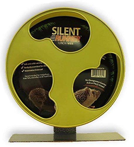 Silent Runner 12″ Wide – Pet Exercise Wheel 51dAa2ZgOwL