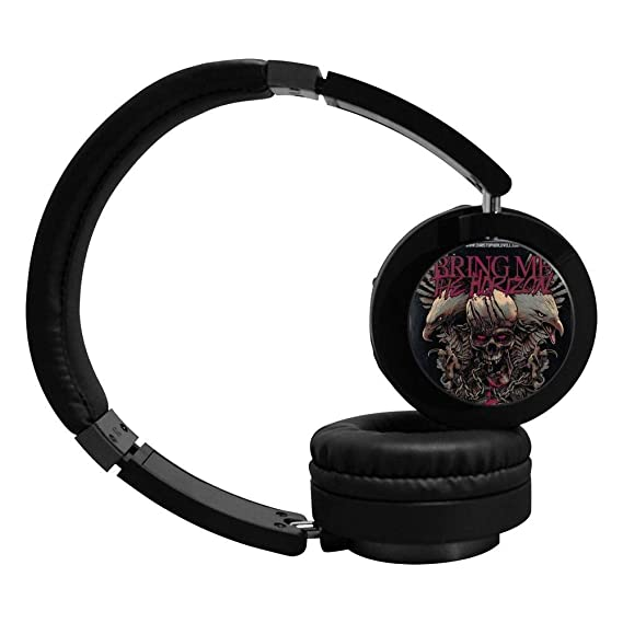 9bdea6bbe41 Image Unavailable. Image not available for. Color: Bring Me Skull Horizon  Bluetooth Headphone Over-Ear ...