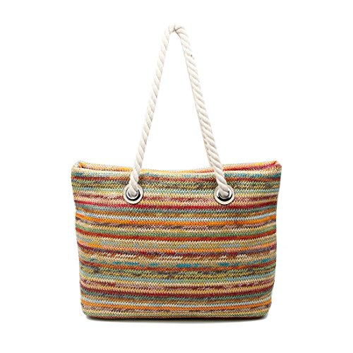 OBC Only-Beautiful-Couture - Bolso de asas para mujer azul Blau V1 xx-large Apricot V1