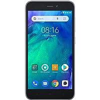 "Xiaomi Redmi GO (8GB + 16GB MicroSD) 5"" visualización, Snapdragon 425, Global 4G LTE Dual SIM gsm Desbloqueado de fábrica - Modelo Internacional, Negro"