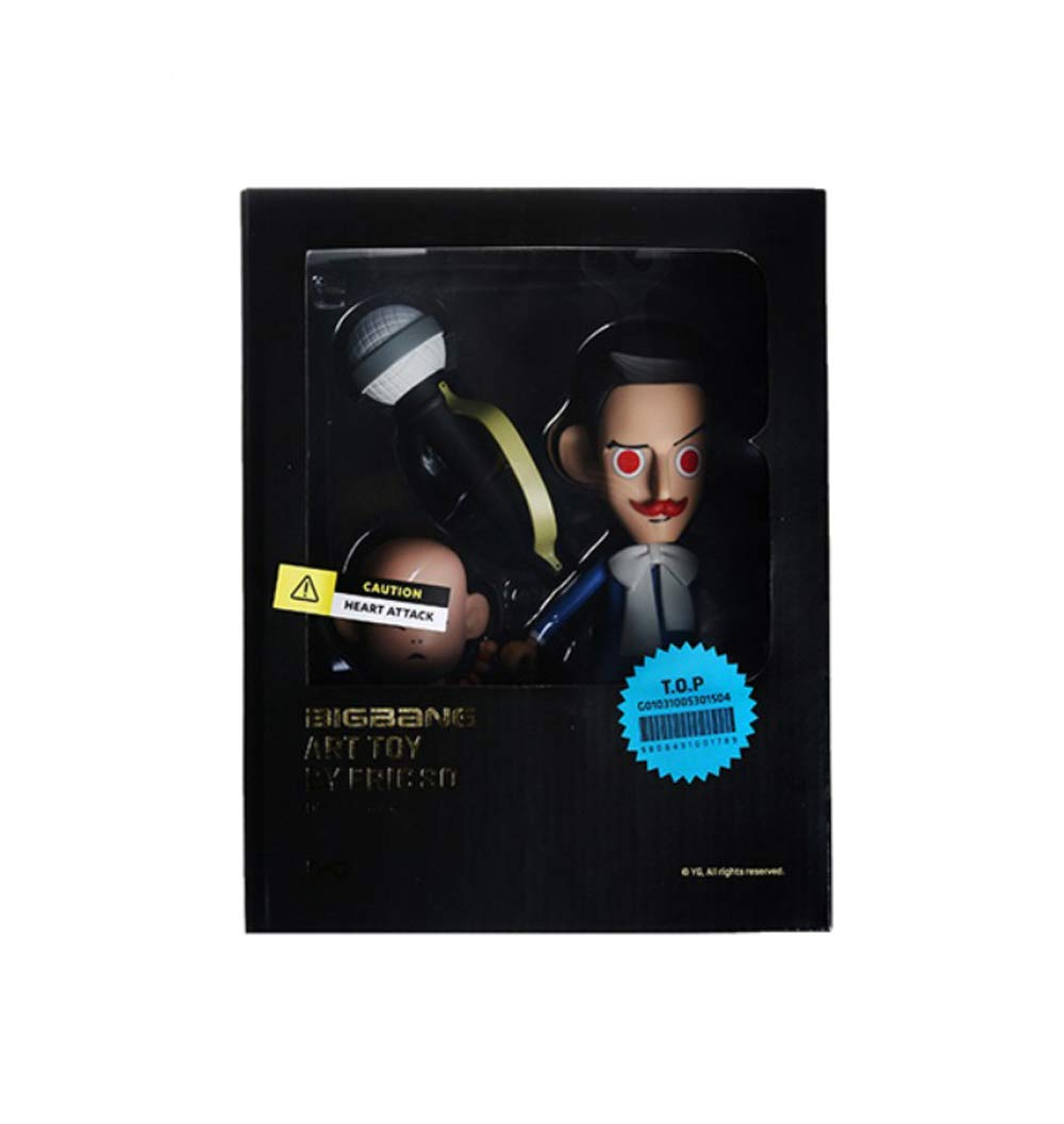 Amazon.com: YG Entertainment Bigbang ARTTOY Figure by Eric So, T.O.P ...
