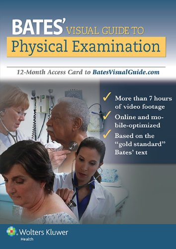 Bates' Visual Guide to Physical Examination: 12-Month Access Card to BatesVisualGuide.com by LWW