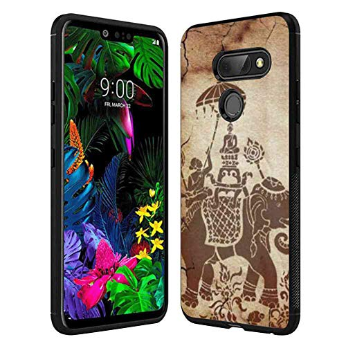 (Phone Case Compatible with LG G8 ThinQ (2019) 6.1 Inch Mural of Thailand)