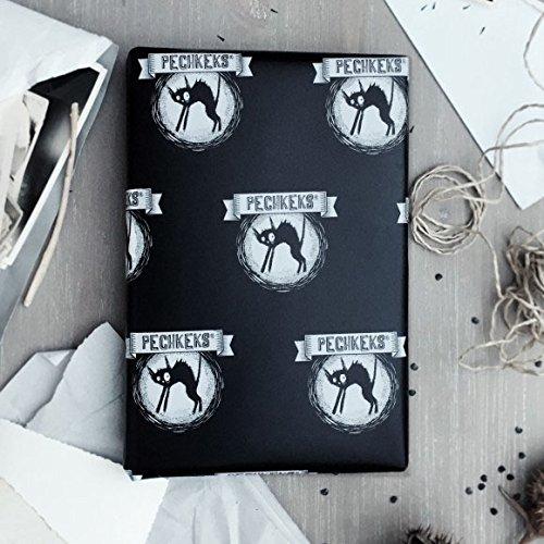 """Pechkeks Geschenkpapier /""""Mehr war nicht drin/"""" 2-er Set"""