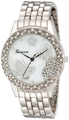 Geneva Stainless Rhinestone Crystal Butterfly product image