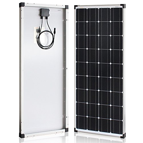 Richsolar 100 Watt 12 Volt Monocrystalline Solar Panel with