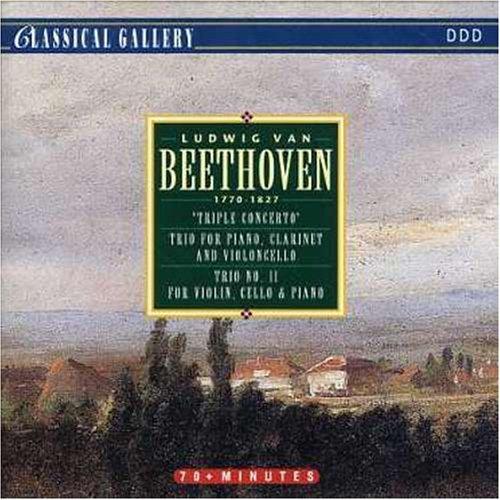 Beethoven Clarinet Concerto (Ludwig Van Beethoven: 'Triple Concerto', Trio For Piano, Clarinet and Violoncello, Trio No. 11 For Violin, Cello & Piano by L.V.)