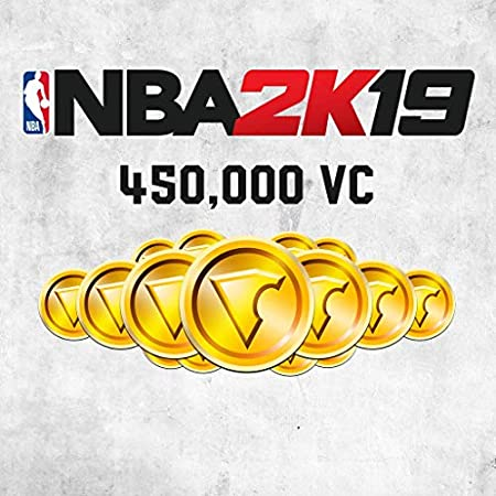 NBA 2K19: 450000 VC Pack - PS4 [Digital Code]