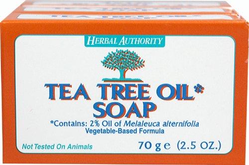 Herbal Authority Tea Tree Oil Soap-2.5 oz - Bar 2.5 Ounce