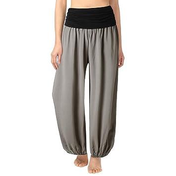 Amazon.com: SUJING Casual Yoga Harem Pants for Women Plus ...