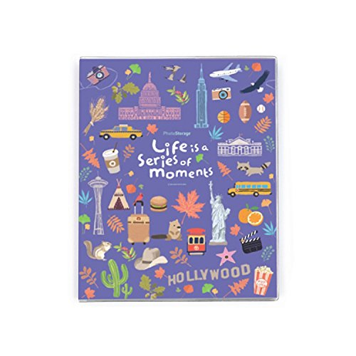 b_odd supplies Self Adhesive Photo Album Book, Scrapbooking Scrapbook Magnetic Album, Hardcover, 30 Pages Holds 3X5, 4X6, 5X7, 6X8 photos, 8.26X10.31 (America)