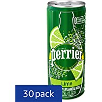 30-Pk. Perrier Lime Flavored Sparkling Mineral Water