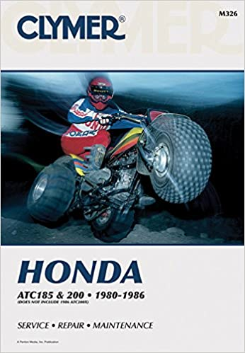 Clymer honda atc 185 200 1980 1986 service repair maintenance clymer honda atc 185 200 1980 1986 service repair maintenance clymer all terrain vehicles 5th revised ed edition fandeluxe Gallery
