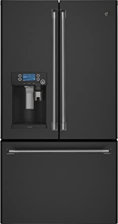 GE Cafe CYE22UELDS 36u0026quot; Counter Depth French Door Refrigerator With  22.2 Cu. Ft.