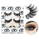 DYSILK 3D Eyelashes Mink Natural Look False Eyelashes Extension Makeup Long Handmade Fake