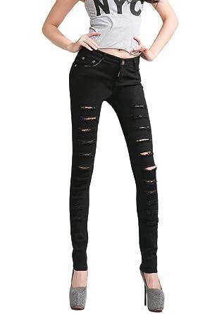 Zerrissene jeans hosen