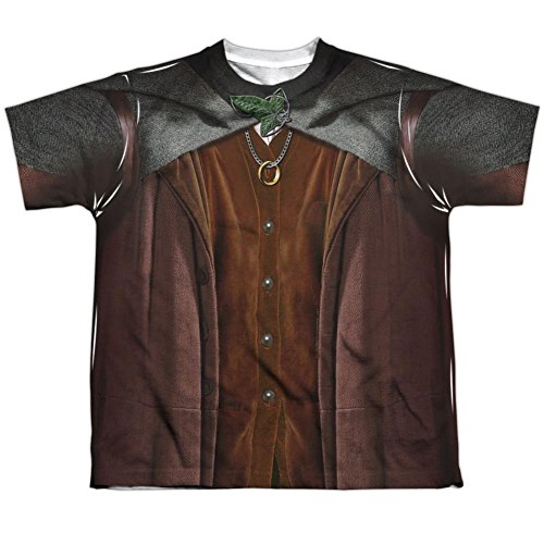 [Youth: Lord Of The Rings- Frodo Costume Tee Kids T-Shirt Size YXL] (Frodo Costume For Kids)