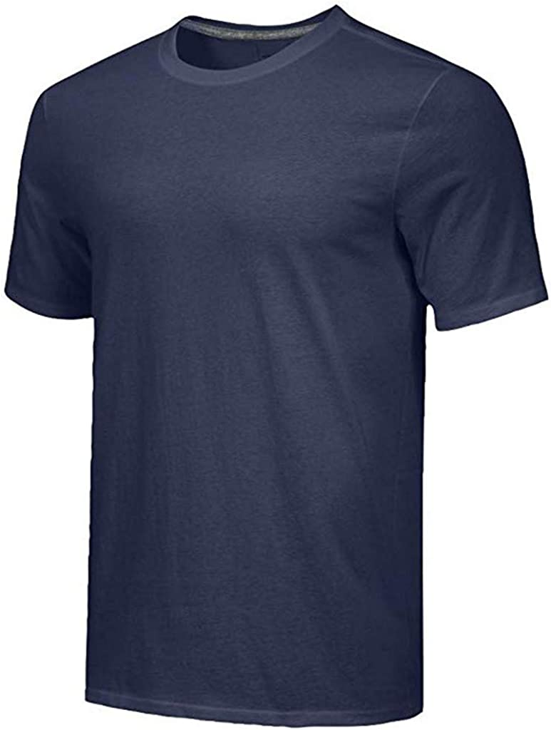 Workout /& Training Activewear Doublelift Mens Quick-Dry Athletic Shirts Short Sleeve Yoga Tops Pack of 5PCS