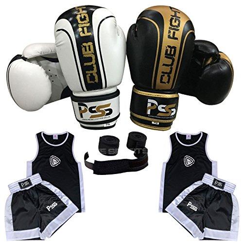 1006 Prime Kids Boxing Uniform Set Top /& Short Age 3-14 Years Boxing Gloves